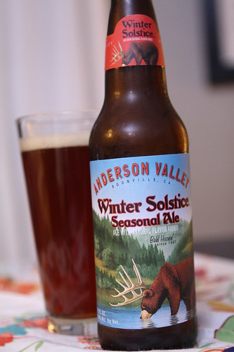Anderson Valley Brewing Company Winter Solstice Seasonal Ale