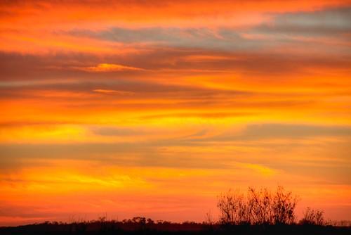 sunset florida hdr