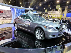 automobile(1.0), automotive exterior(1.0), executive car(1.0), wheel(1.0), vehicle(1.0), automotive design(1.0), sports sedan(1.0), lexus(1.0), auto show(1.0), sedan(1.0), land vehicle(1.0), luxury vehicle(1.0),