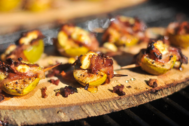 Grilled Planked Figs with Pancetta and Goat Cheese Recipe :: The ...