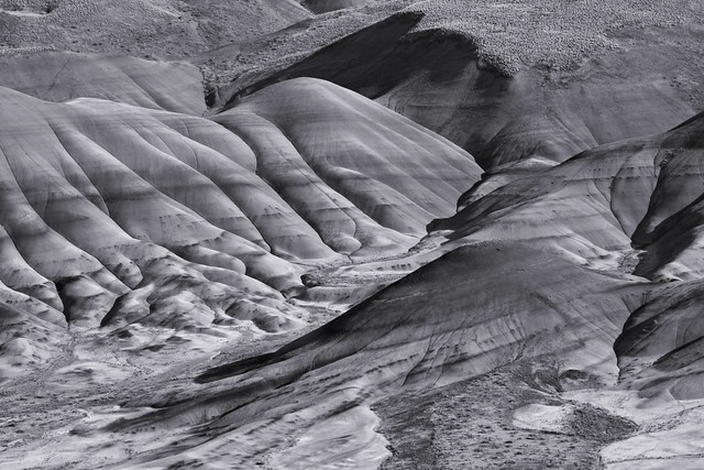 Painted Hills: Lines and folds