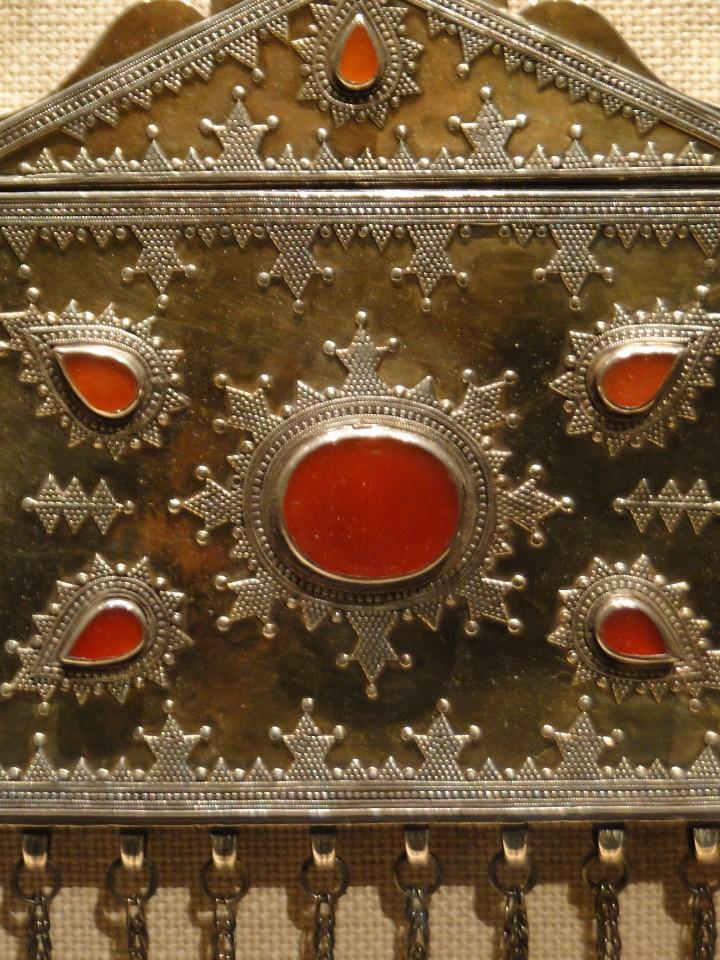 04 1j13_6259 qur'an holderTurkmen jewelryMetropolitan Museum ofArt