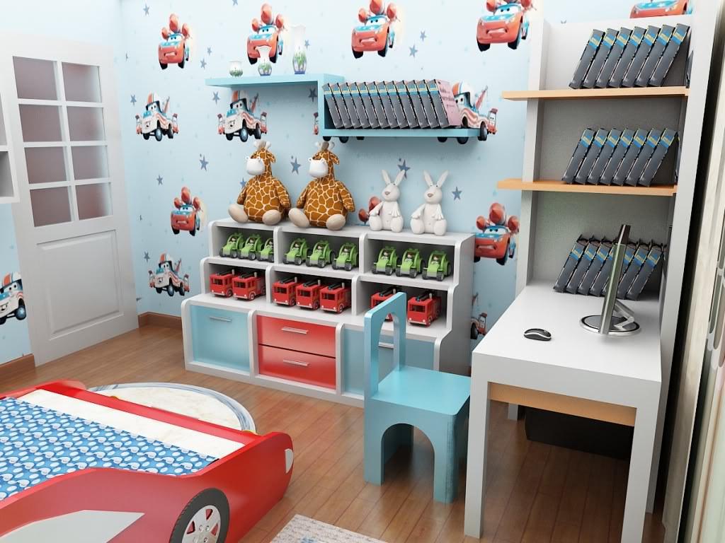 Trang trí phòng em bé 2