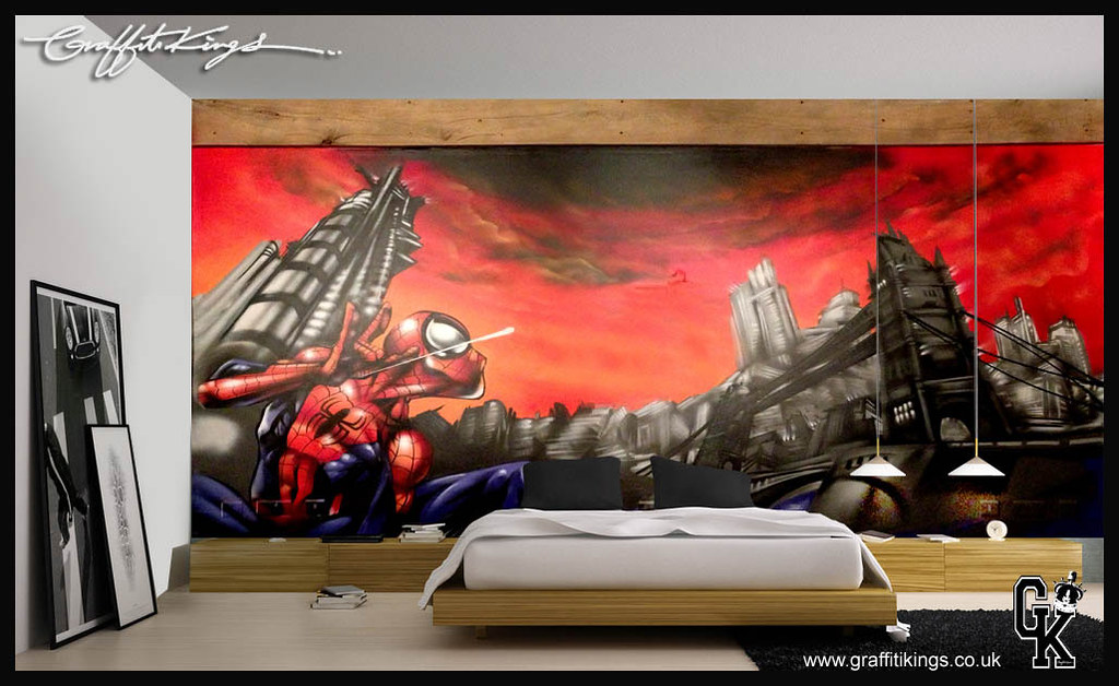 Spiderman Graffiti Wallpaper