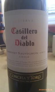 Casillero del Diabolo Cabernet Sauvignon 2011