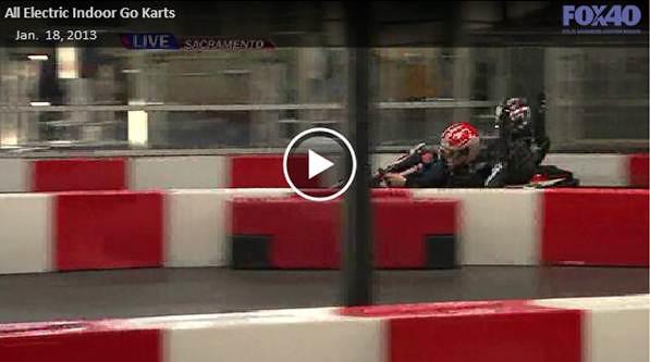 FOX40 News - All Electric Indoor Go Karts - K1 Speed | K1 Speed