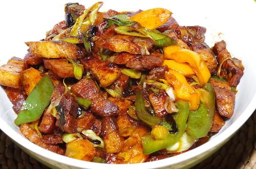Fuchsia Dunlop's Twice-cooked Pork by La belle dame sans souci