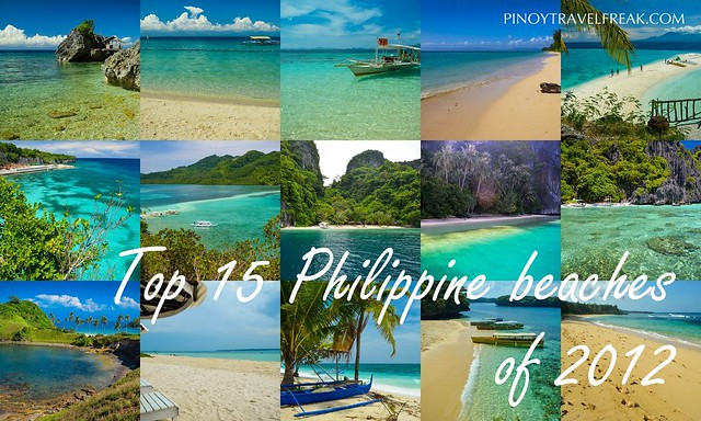 My Top 15 Philippine Beaches of 2012 (Click image below)