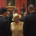 HM The Queen and Gates Scholars, June 2005