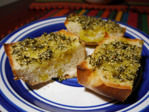 2013-01-27 - VI Baked Garlic Bread - 0007