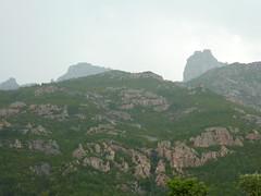 Anciennes bergeries de Mela : sur le sentier de Mela, Punta Buvone et di Bonifacio sous l'orage