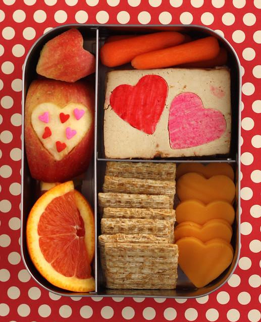 Preschool Lunchbots Valentine Bento #392