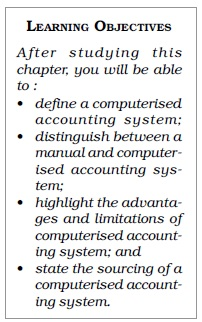 NCERT Class XI Accountancy: Chapter 13 – Computerised Accounting
