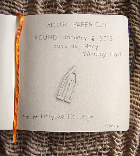 Lost and Found Sketchbook-Paper Clip