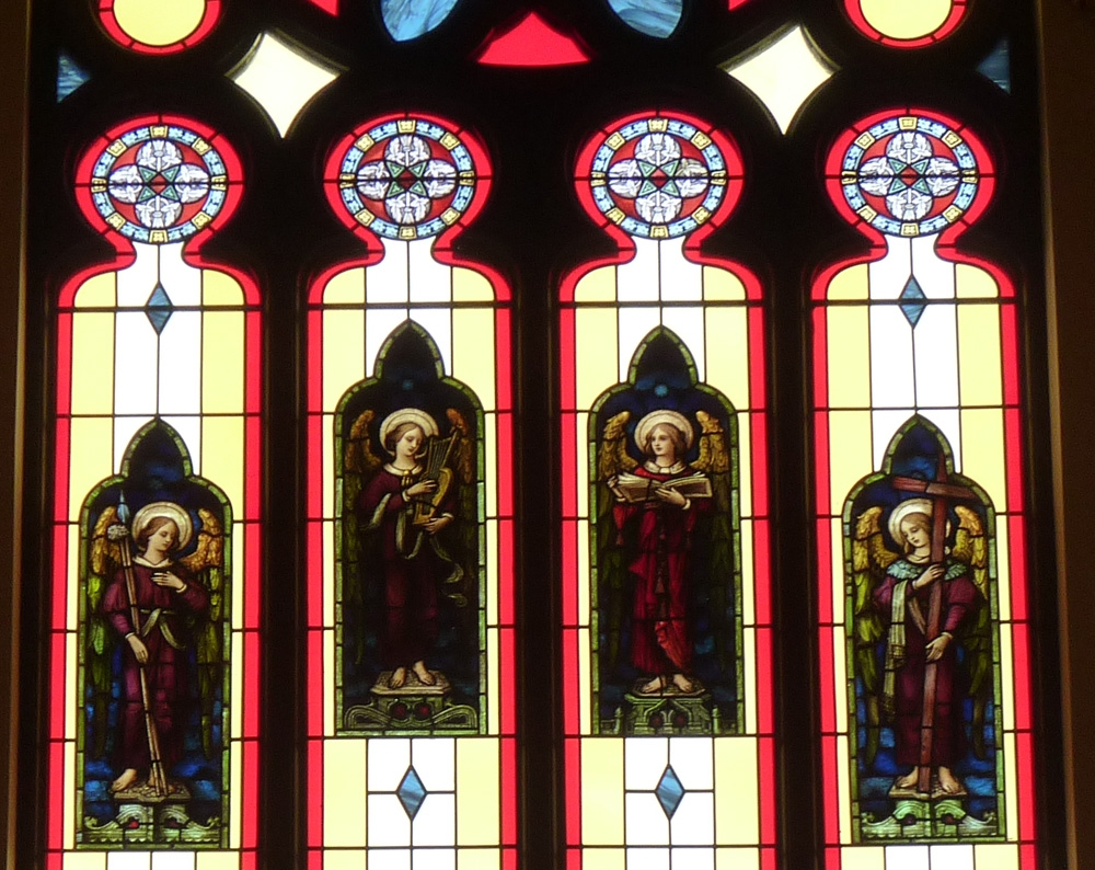 Stained Glass on B angels