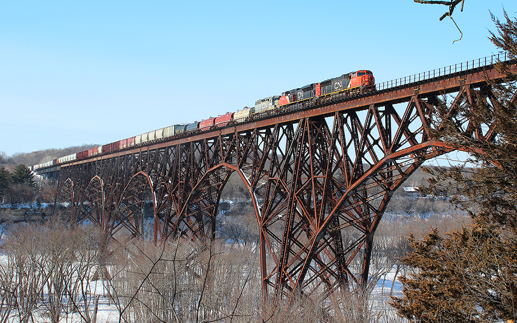High Bridge Train, St. Croix River