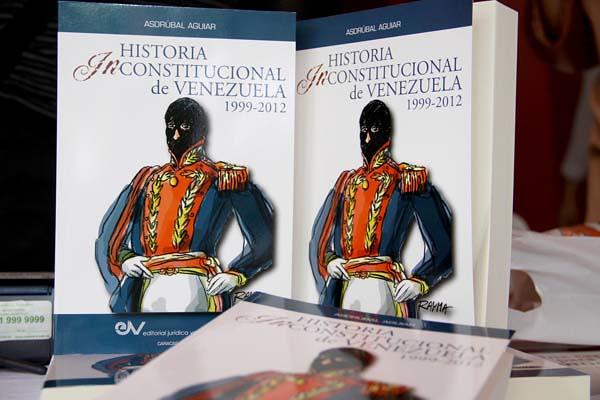 """Historia Inconstitucional de Venezuela"", texto escrito por Asdrúbal Aguiar,"