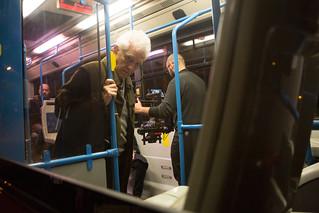 26 Le verità - Backstage - Autobus