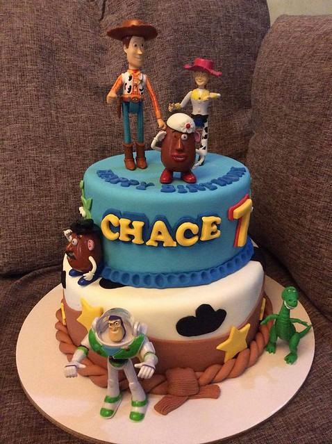Toy Story Themed Cake by Oliver Garcia