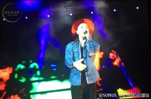 Tae Yang - V.I.P GATHERING in Harbin - 21mar2015 - SUNANDUS - 01