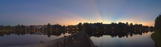 Sunbeams Over Saratoga