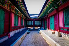 Palacio de Seúl - Simetría