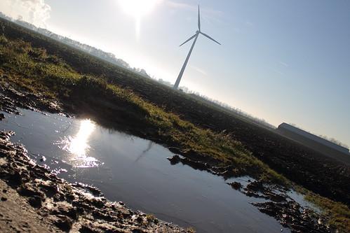 Duurzame energiebronnen Windenergie en zonne-energie