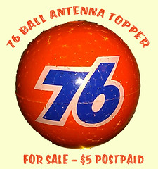 76 Ball antenna topper
