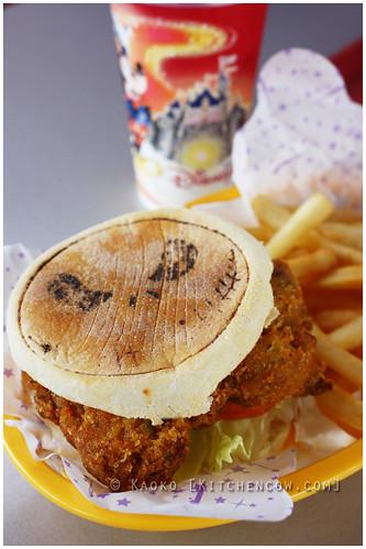 HK Disneyland - Chicken Sandwich