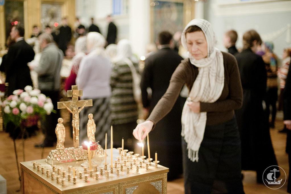 9 декабря 2012, Панихида по новопреставленному Блаженнейшему Патриарху Антиохийскому и всего Востока Игнатию IV