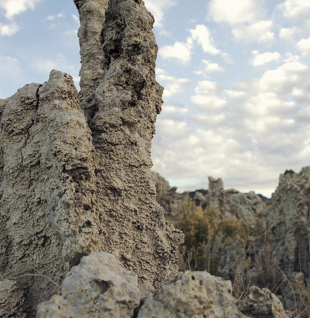 Tufas at Mono Lake; Yosemite (2012)