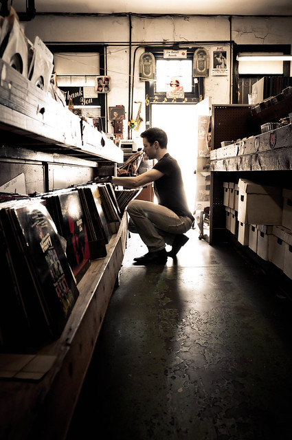 Rummaging Through Records at Jim Russel's in New Orleans | @PopArtichoke