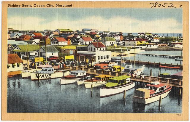 Fishing boats ocean city maryland flickr photo sharing for Ocean city maryland fishing