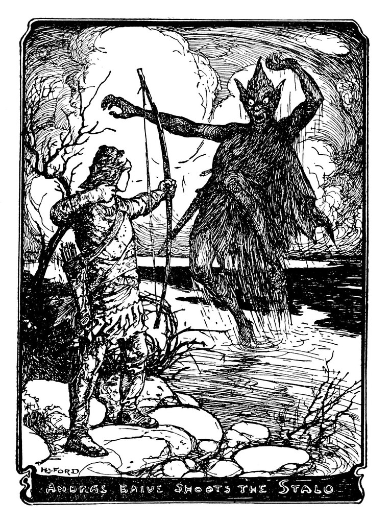 Henry Justice Ford - The orange fairy book edited by Andrew Lang , 1906 (illustration 12)