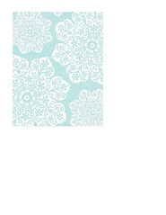 portrait A2 card size JPGbatik flower Snowflakes various sizes LARGE SCALE