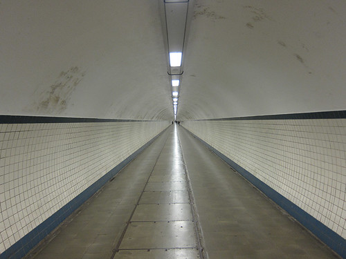 a very loooong tunnel