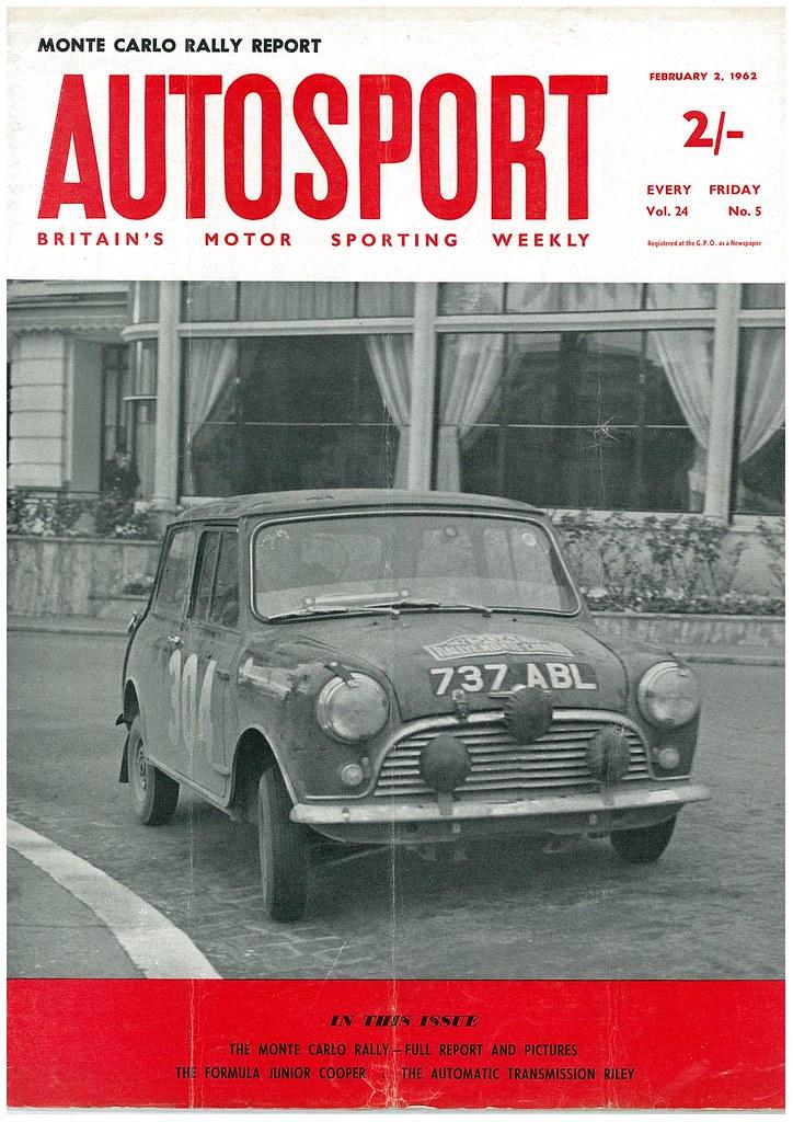 MONTE CARLO 1962 cover