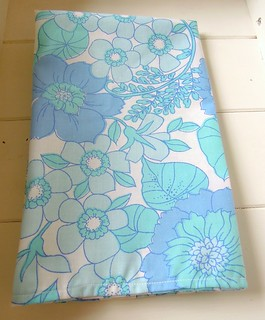 Vintage sheet Tea towel