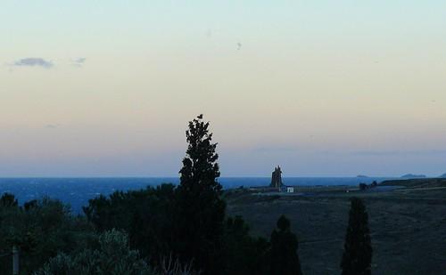 la nuit tombe sur le Cap Cerbère by Claudie K