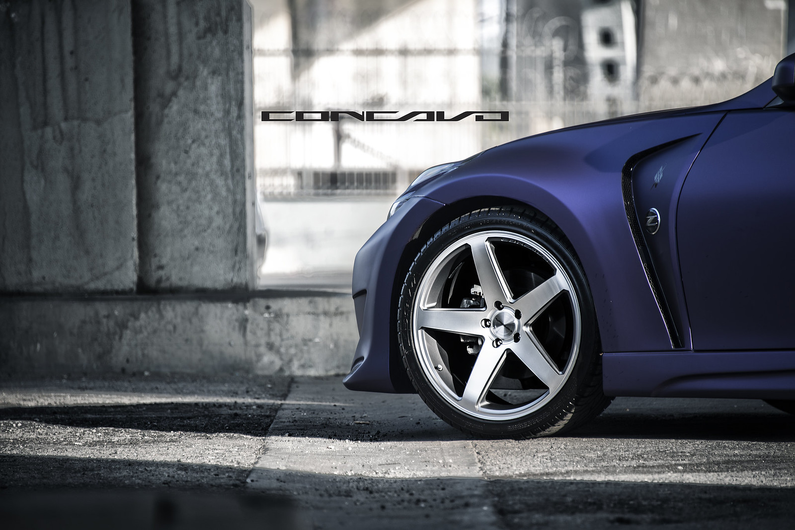 Nissan San Marcos >> Matte purple nissan 370z on cw-5 - MyG37