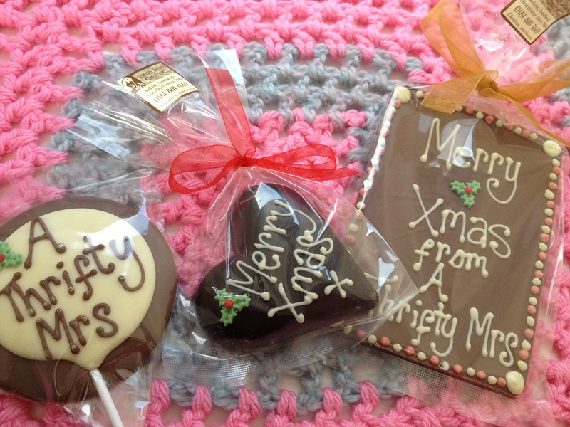 Personalised chocolate
