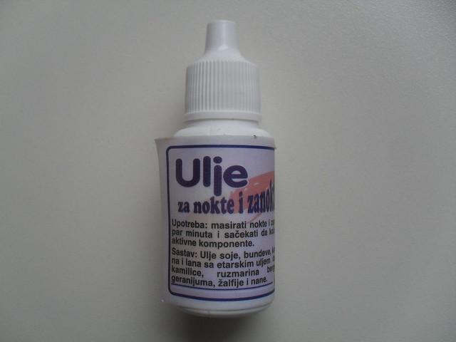 ulje za zanoktice