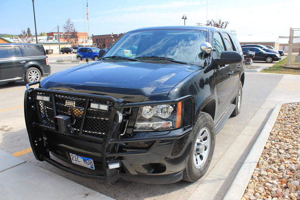 Unmarked Chevrolet Tahoe Custer County Sheriff, South Dakota