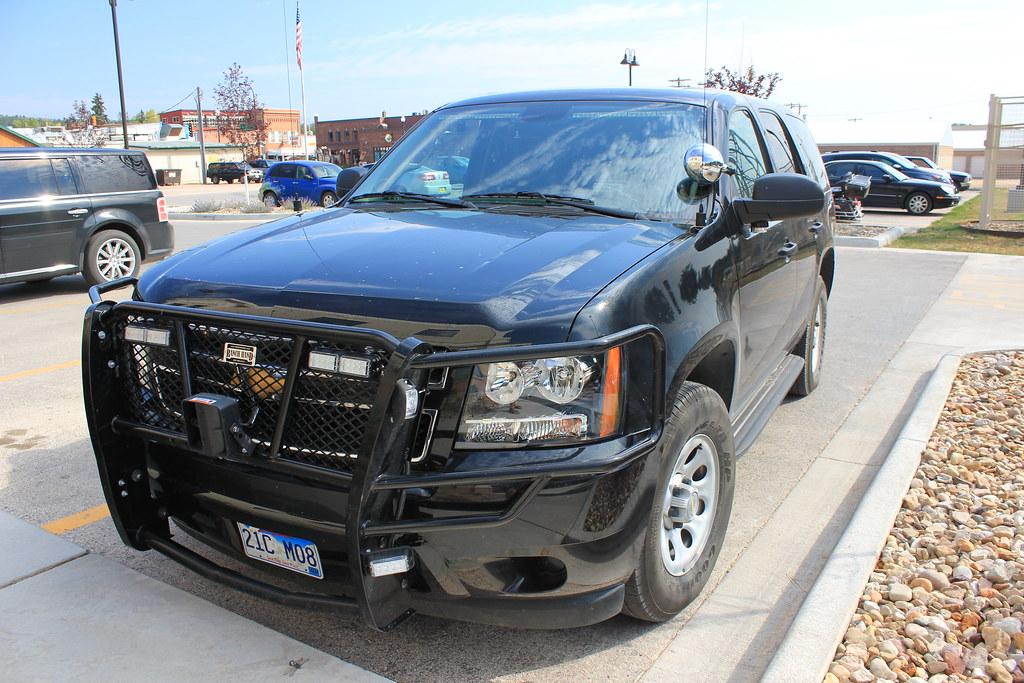 Unmarked Chevrolet Tahoe Custer County Sheriff, South Dakota
