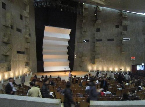 東京文化会館小ホール開演前 2012年12月16日 by Poran111