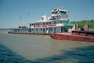 99d069: Martha Mac upbound on Ohio River at L&I Bridge