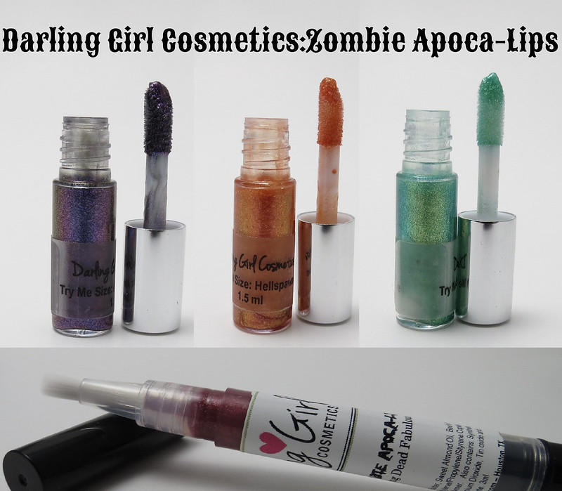 Darling Girl Zombie Apoca Lips