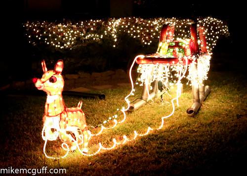 Christmas Sleigh art