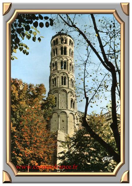 UZES (Gard) Premier Duché de France La Tour Fenestrelle (XIIe siècle) -70-150