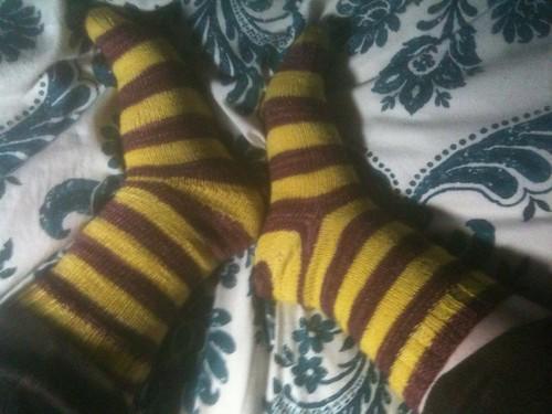 Woolgathering socks